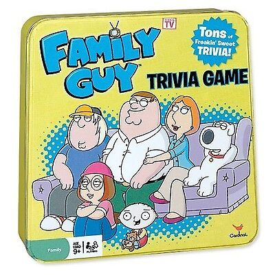 Family Guy Trivia Game by Cardinal New