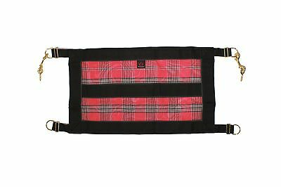 Kensington KPP Stall Guard with Hardware Deluxe Red Plaid One Size New