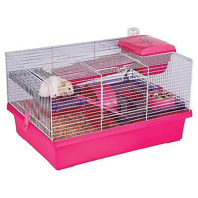 Rosewood Pico Pink & Purple - Hamster & Small Animal Home/Cage Pink/Purple New