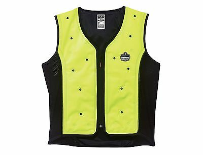 Ergodyne Chill-Its 6685 Dry Evaporative Cooling Vest XX-Large Lime New
