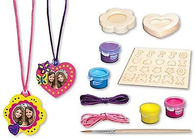 Masterpieces Works of Ahhh Pendant with Charms Small Peggable Wood Paint ... New