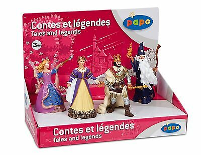 Papo Display Box Tales and Legends 2 4 Figure New
