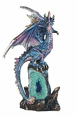 StealStreet SS-G-71429 5.5-Inch Dragon with Long Tail Perched on Rock Sta... New