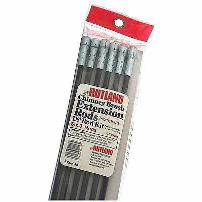 Rutland Chimney Sweeping Extension Rods New