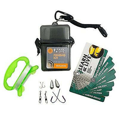 Ultimate Survival Technologies Learn & Live Fishing Kit New