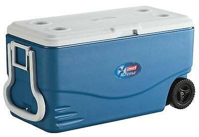 Coleman 100-Quart Xtreme 5 Wheeled Cooler 130 Cans New