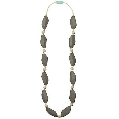 Mama & Little - Ophelia Silicone Teething Necklace - Pebble New
