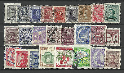 URUGUAY STAMP COLLECTION PACKET of 25 DIFFERENT Used Stamps NICE SELECTION