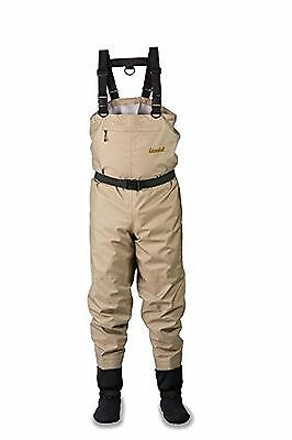 AdamsBuilt Walker River Chest Wader Large Beige X-Large New