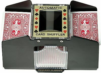 Fat Cat Poker/Casino Game Table Accessory: Automatic Playing Card Shuffle... New