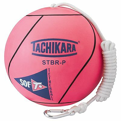 Tachikara STBR-P Extra Soft Tetherball Fluorescent Pink New