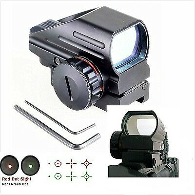WNOSH High Version Holographic Green Red Dot Sight Sighting Scope Tactica... New