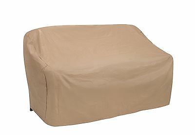 Protective Covers Weatherproof 3 Seat Wicker/Rattan Sofa Cover X Large Tan New