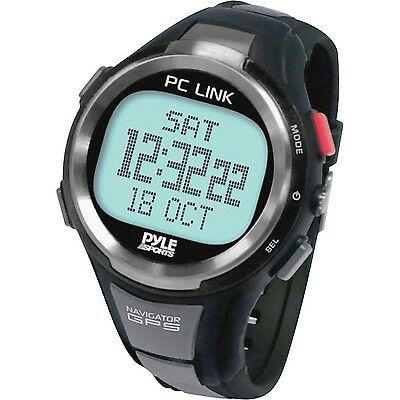 Pyle-Sport PGSPW1 GPS Heart Rate Monitor Digital Watch with Speedometer C... New