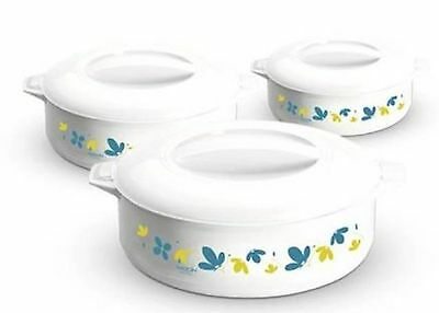 Milton KS835 Treat 3-Piece Casserole Set 1.5 & 2.5 liter,3 pc. set - 0.8 New