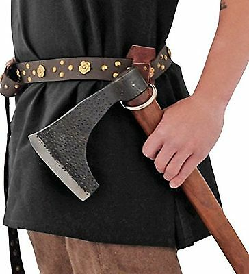 Get Dressed For Battle 3921 Axed Holder with Brown Leather Construction New