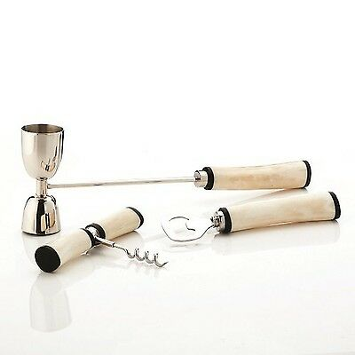 Viski Admiral Three-Piece Bar Set New