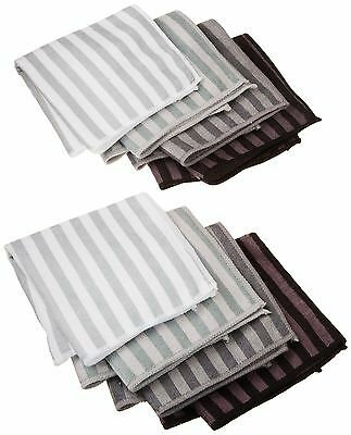 DII Microfiber Multi Purpose Cloths for Dishes Stainless Steel and Glass ... New
