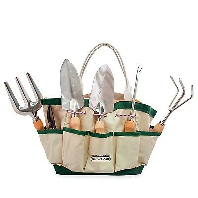 GardenHOME 7 Piece Garden Tool Set Includes 6 LIGHTWEIGHT Hand Tools with... New