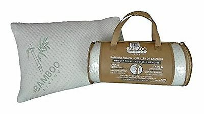 New Bamboo Memory Hypoallergenic Queen Oreiller 18 x 26 inch Pillow New