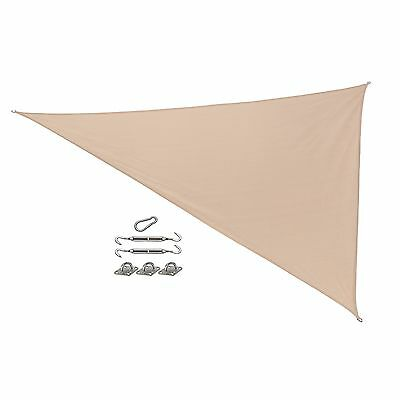 California Sun Shade Right Triangle Sail and Fixing Kit 15 by 12 by 9-Fee... New