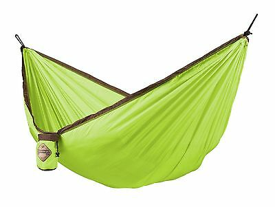 La Siesta - Chillax Double Ultralight Hammock - Green New