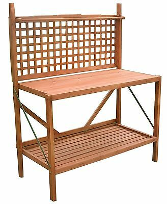 Merry Products Garden Foldable Potting Bench New