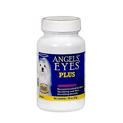 Angels' Eyes Plus Natural Supplement For Dogs 45G 45 Grams New