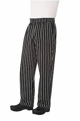 Chef Works Men's Designer Baggy Chef Pant (GSBP) M New