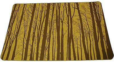 Cork Nature  3mm Set of 2 Korko 490402 Magic Forest Brown Placemat New