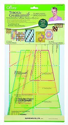 Clover Trace and Create Quilt Templates with Nancy Zieman Grandmother's O... New