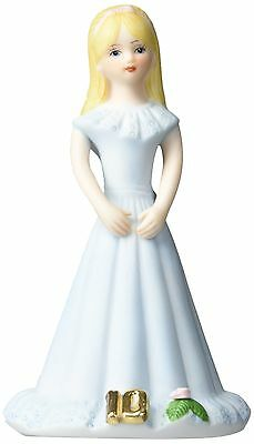 Growing up Girls from Enesco Blonde Age 10 Figurine 5.5 IN New