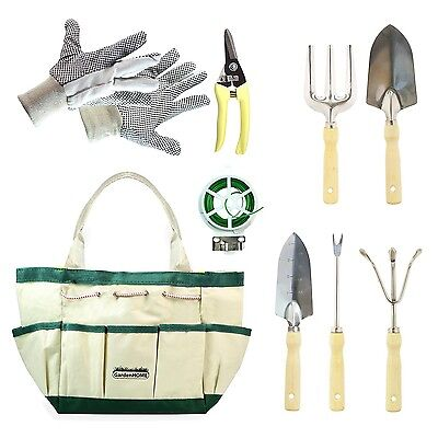 GardenHome 9pcs Garden Tool Set New