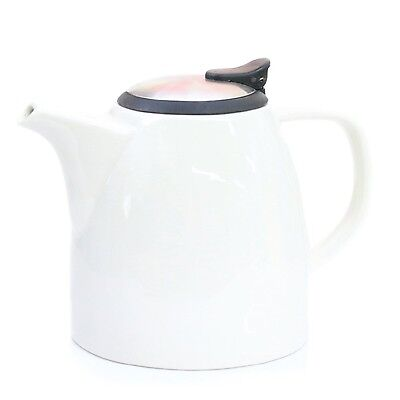Drago Ceramic Teapot w/ Stainless Steel Lid & Extra-Fine Infuser - #1 Bes... New