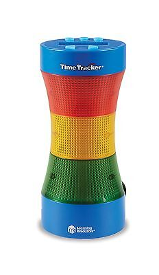 Learning Resources LER6900 Time Tracker Visual Timer And Clock New