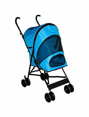 Pet Gear Travel Lite Pet Stroller for Cats and Dogs up to 15-Pounds Ocean... New