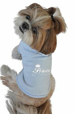 Ruff Ruff and Meow Small Dog Hoodie Prince Blue New