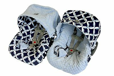 Itzy Ritzy Baby Ritzy Rider Infant Car Seat Cover Sunshine Chevron New