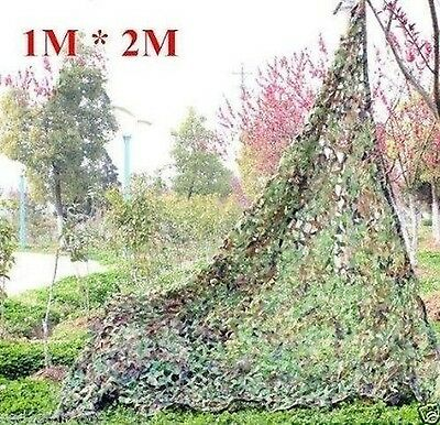 ZJchao Woodland Camouflage Camo Net netting Camping Military Hunting 39*7... New