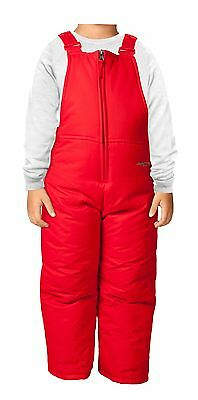 Arctix Chest High Insulated Bib Overall 5T Formula One Red New