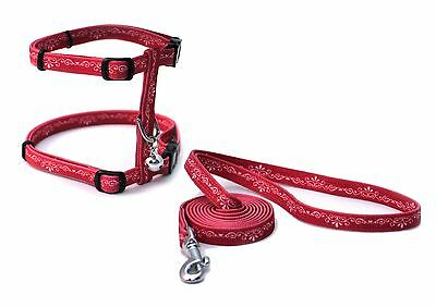 Catit Style Adjustable Harness and Leash Set Small Urban New