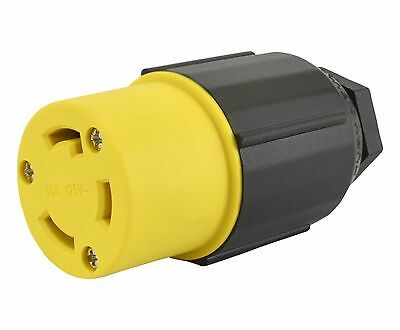 Conntek 60411 30-Amp Assembly Locking Connector New