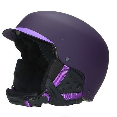 Womens Anon Aera Helmet Imperial Purple Large New
