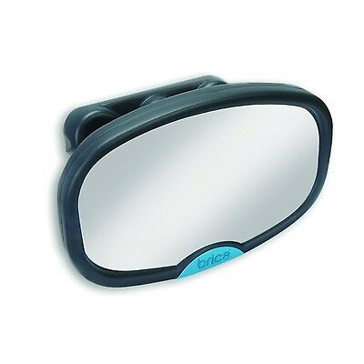 Brica Stay-in-Place with Suction Lock Mirror Grey New