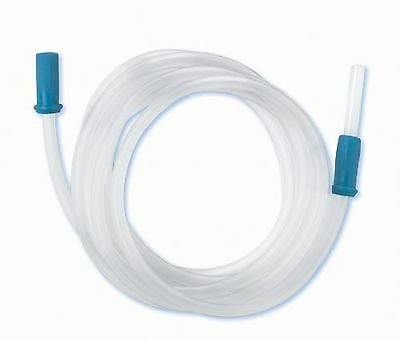 Medline DYND50246 Sterile Non-Conductive Suction Tubing 1/4-Inch X 6-Feet... New