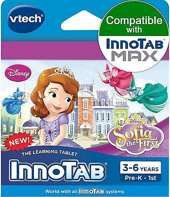 VTech InnoTab Software Sofia The First Disney's Sofia Standard Packaging New