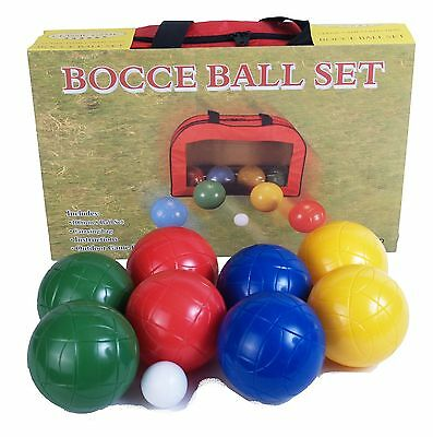 John N. Hansen Co. Bocce Ball Game Set New