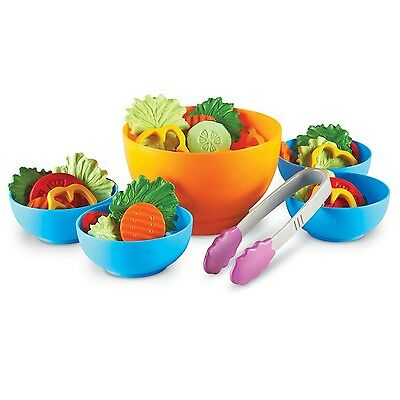 Learning Resources LER9745-D New Sprouts Garden Fresh Salad Set Toy New