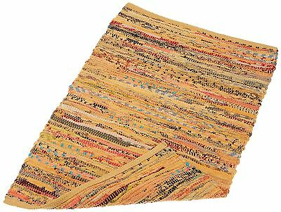 DII Home Essentials Rag Rug for Kitchen Livingroom Entry Way Laundry Room... New