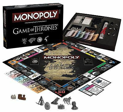 Monopoly: Game of Thrones Collector's Edition New